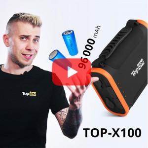 Видеообзор внешнего аккумулятора TOP-X100