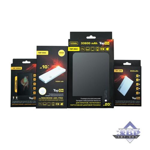 iXBT: Обзор внешних аккумуляторов TopON