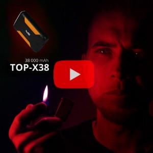 Видеообзор внешнего аккумулятора TOP-X38