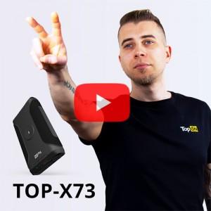 Видеообзор внешнего аккумулятора TOP-X73