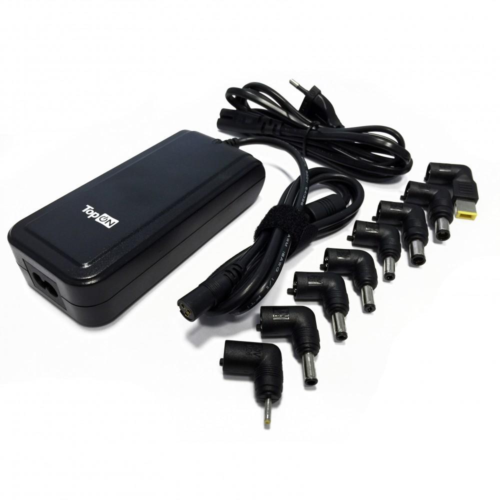 TopON TOP-UNIV_8 Блок питания  90W универсальный 10V-24V 4.5A (8 коннекторов) с USB
