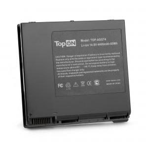 Аккумулятор для ноутбука Asus ROG G74, G74J, G74S, G74SX Series. 14.8V 4400mAh 65Wh. PN: A42-G74, LC42SD128.