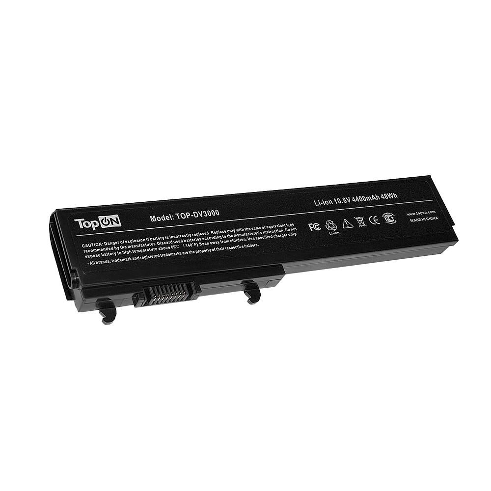 TopON TOP-DV3000 Аккумулятор для ноутбука HP Pavilion dv3000, dv3500 Series. 10.8V 4400mAh 48Wh. PN: 463305-341, KG297AA.