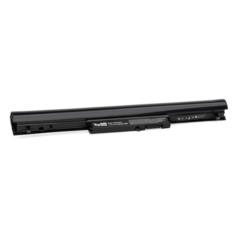 TopON TOP-HP-S14 Аккумулятор для ноутбука HP Pavilion SleekBook 14, 15, Chromebook 14 Series. 14.8V 2200mAh 33Wh. PN: HSTNN-DB4D, HSTNN-YB4D.
