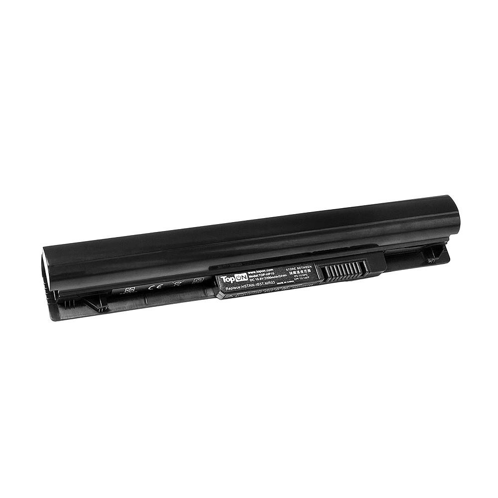 TopON TOP-MR03 Аккумулятор для ноутбука HP Pavilion 10 TouchSmart Series. 10.8V 2200mAh 24Wh. PN: HSTNN-OB74, MR03.