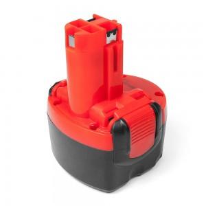 Аккумулятор для Bosch 9.6V 2.0Ah (Ni-Mh) PN: 2607335707, 2607335272, 2607335260, BAT0408