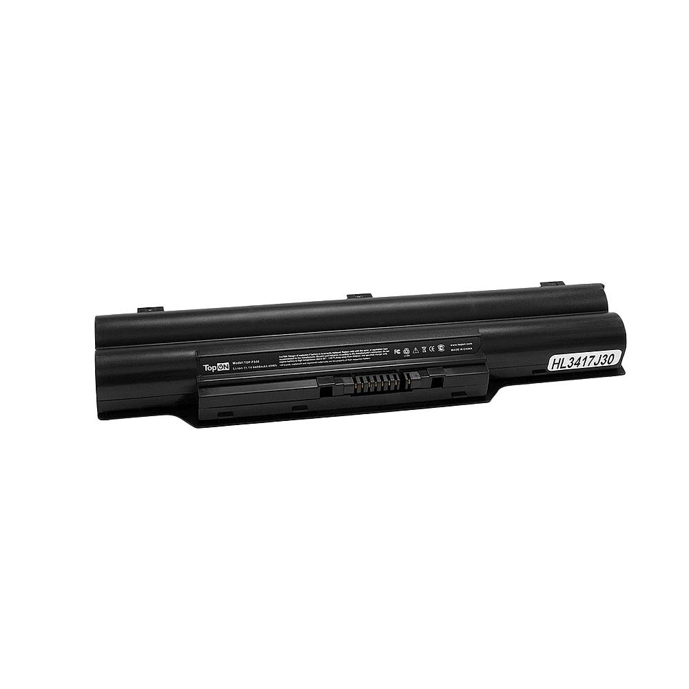 TopON TOP-FS50 Аккумулятор для ноутбука Fujitsu Siemens FMV-Biblo MG50, MG55, MG57. 10.8V 4400mAh 48Wh. PN: FPCBP145, FPCBP145AP.