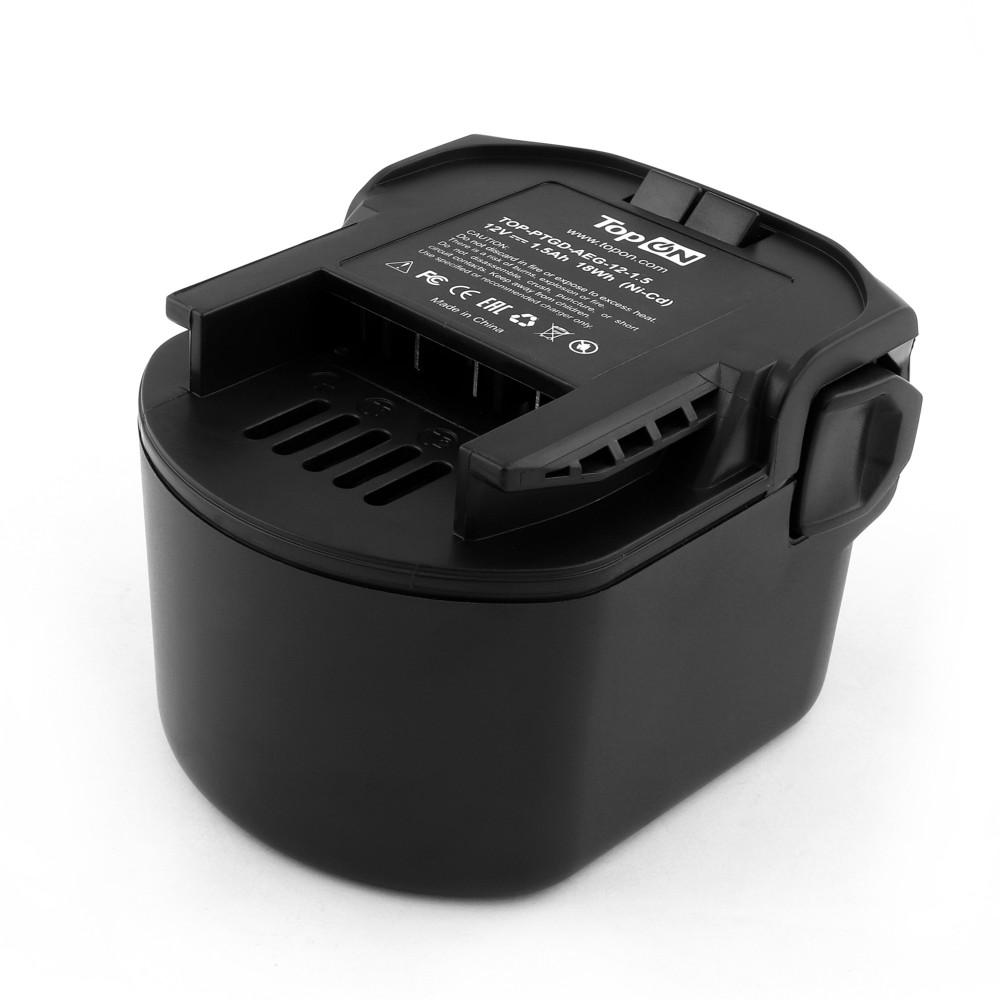 Аккумулятор для AEG 12V 1.5Ah (Ni-Cd) PN: B1214G, B1215R, B1220R, M1230R.