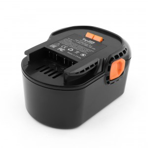 Аккумулятор для AEG BS14C. 14.4V 1.5Ah (Ni-Cd) PN: B1414G.