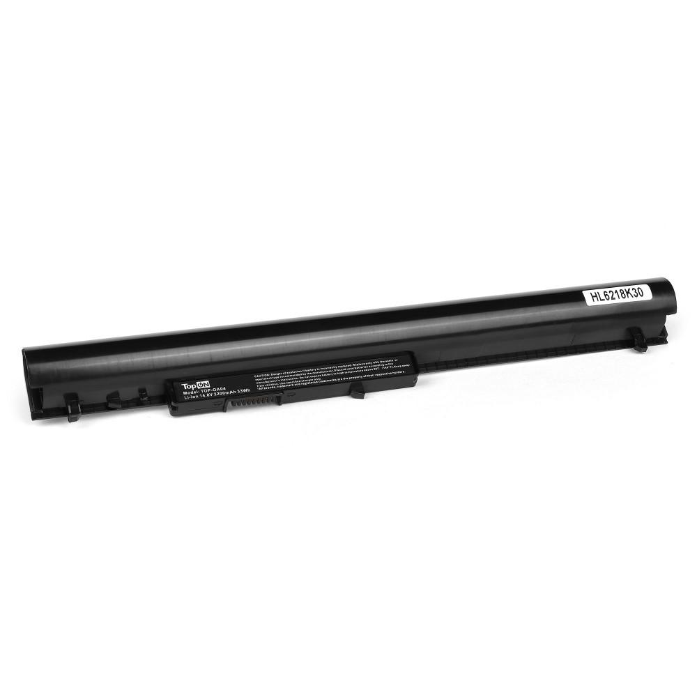 TopON TOP-OA04 Аккумулятор для ноутбука HP 15-d, 255 G2, 250 G3, 255 G3 Series. 14.8V 2200mAh PN: OA04, TPN-F113