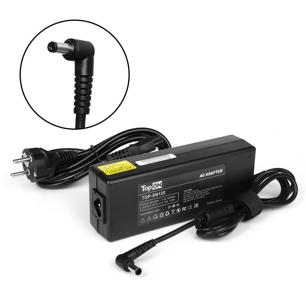 TopON TOP-SN120 Блок питания  для Sony 19.5V 6.15A (6.5x4.4) 120W ADP-120MB