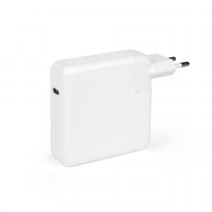 Универсальный блок питания 87W c портом USB-C, Power Delivery 3.0, Quick Charge 3.0. PN: MNF82Z-A, Белый