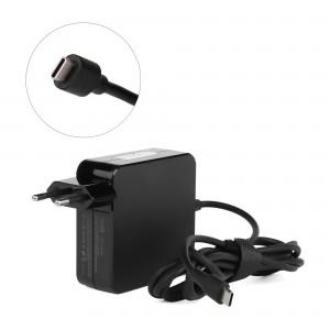Блок питания TopON 65W кабель Type-C, Power Delivery, Quick Charge 3.0 в розетку, черный.
