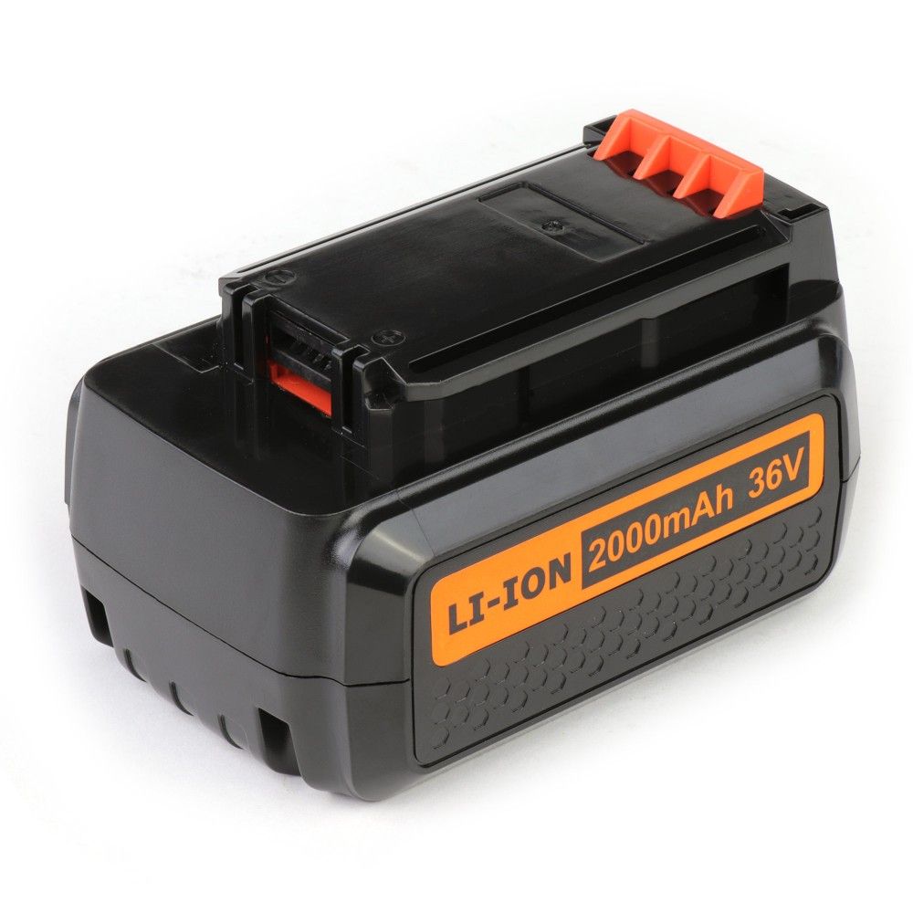 TopON TOP-PTGD-BD-36-2.0-Li Аккумулятор для Black & Decker 36V 2.0Ah (Li-Ion) PN: BL20362.