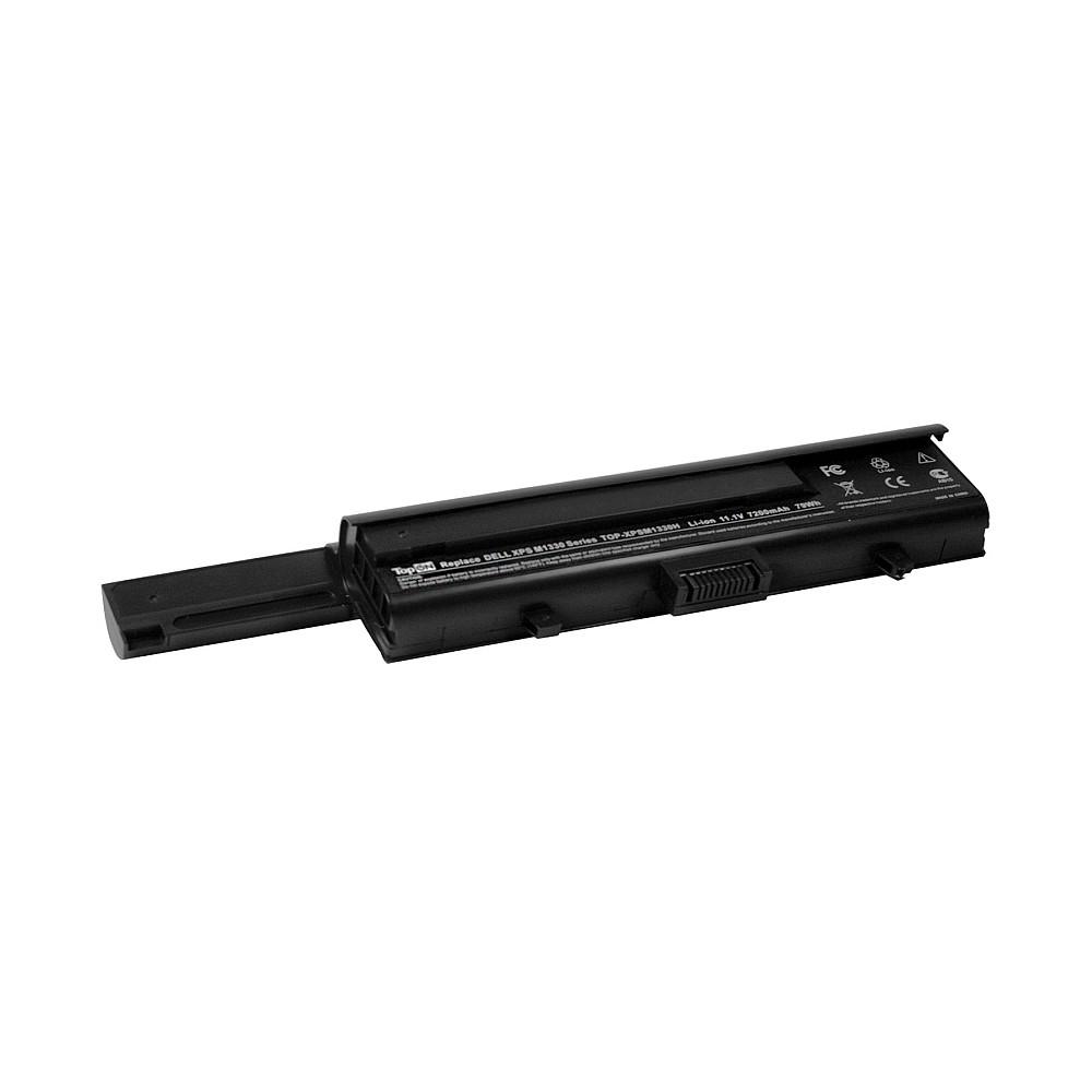 TopON TOP-XPSM1330H Аккумулятор для ноутбука Dell XPS M1330, PP25L, Inspiron 1318 Series. 11.1V 6600mAh 80Wh, усиленный. PN: TT485, WR050.
