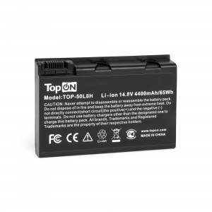 Аккумулятор для ноутбука Acer Aspire 3690, 5110, 5680, TravelMate 2490, 3900, 4230 Series. 14.8V 4400mAh 65Wh. PN: BATCL50L8, BT.00803.005.