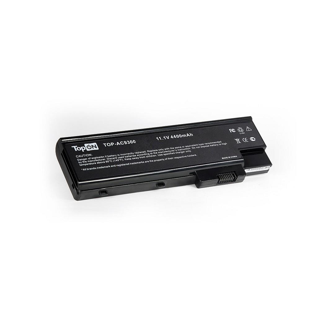 TopON TOP-AC9300 Аккумулятор для ноутбука Acer Aspire 5600, 7100, 9400, TravelMate 4670, 5620, 7510 Series. 11.1V 4400mAh 49Wh. PN: CGR-B/6F9, BTP-BCA1.