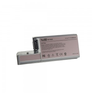 Аккумулятор для ноутбука Dell Latitude D531, D820, D830, Precision M65, M4300 Series. 11.1V 4400mAh 49Wh. PN: CF623, DF192. Серый.