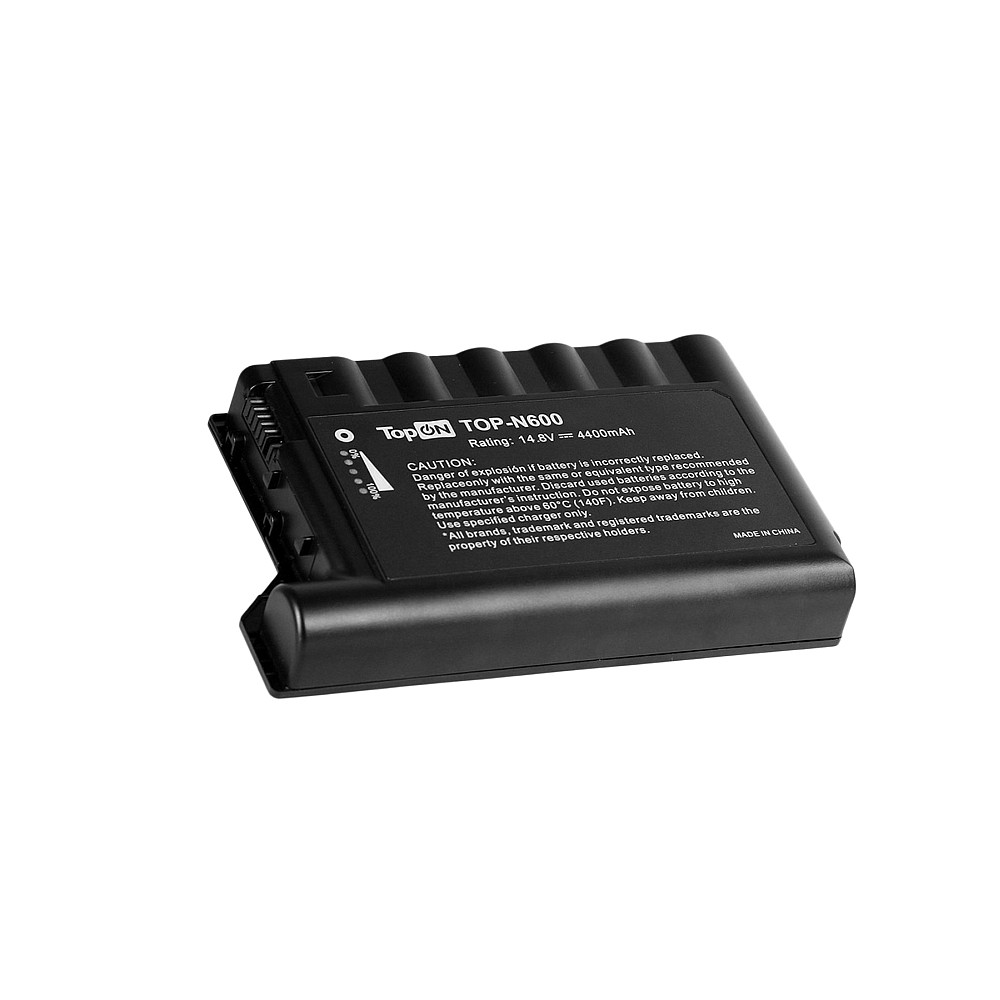 TopON TOP-N600 Аккумулятор для ноутбука HP Compaq EVO N600, N610C, N610V, N620C Series. 14.8V 4400mAh 65Wh. PN: 229783-001, 232633-001.