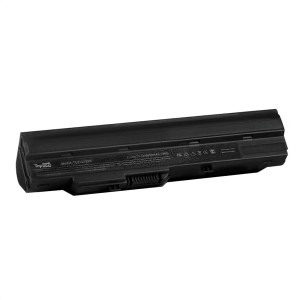 Аккумулятор для ноутбука MSI Wind U90, U100, U120, U200, U230 Series. 11.1V 6600mAh 73Wh, усиленный. PN: BTY-S11, 3715A-MS6837D1