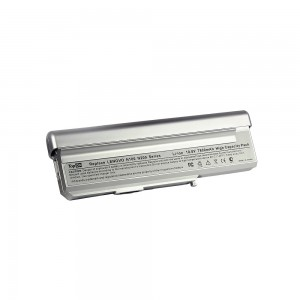 Аккумулятор для ноутбука Lenovo 3000 C200, N100, N200 Series. 10.8V 7800mAh 84Wh, усиленный. PN: 40Y8315, 40Y8317. Серебристый.