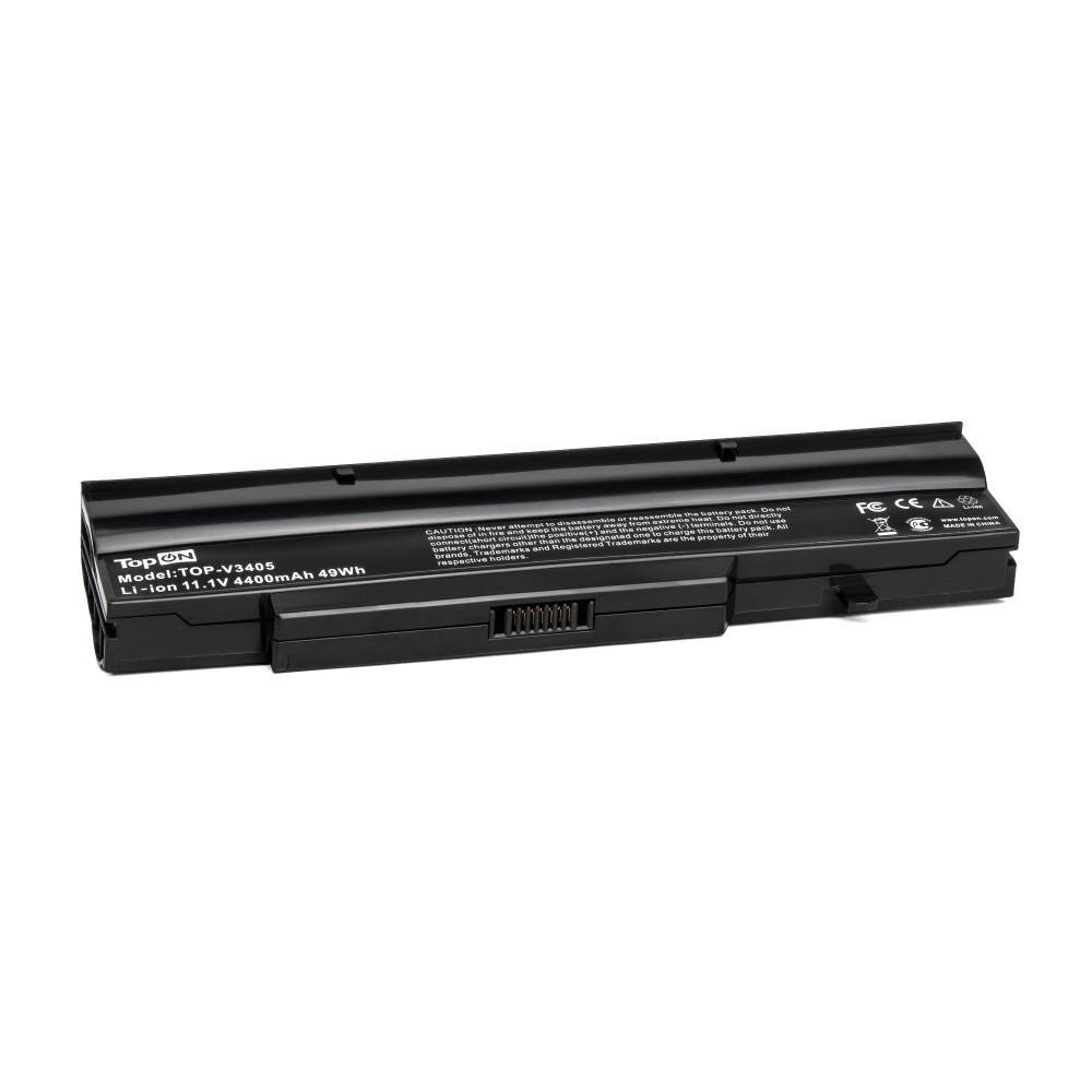 TopON TOP-V3405 Аккумулятор для ноутбука Fujitsu-Siemens Amilo Li1718, Amilo Pro V8210, Esprimo Mobile V6505 Series. 11.1V 4400mAh 49Wh. PN: BTP-B4K8, BTP-C1K8.