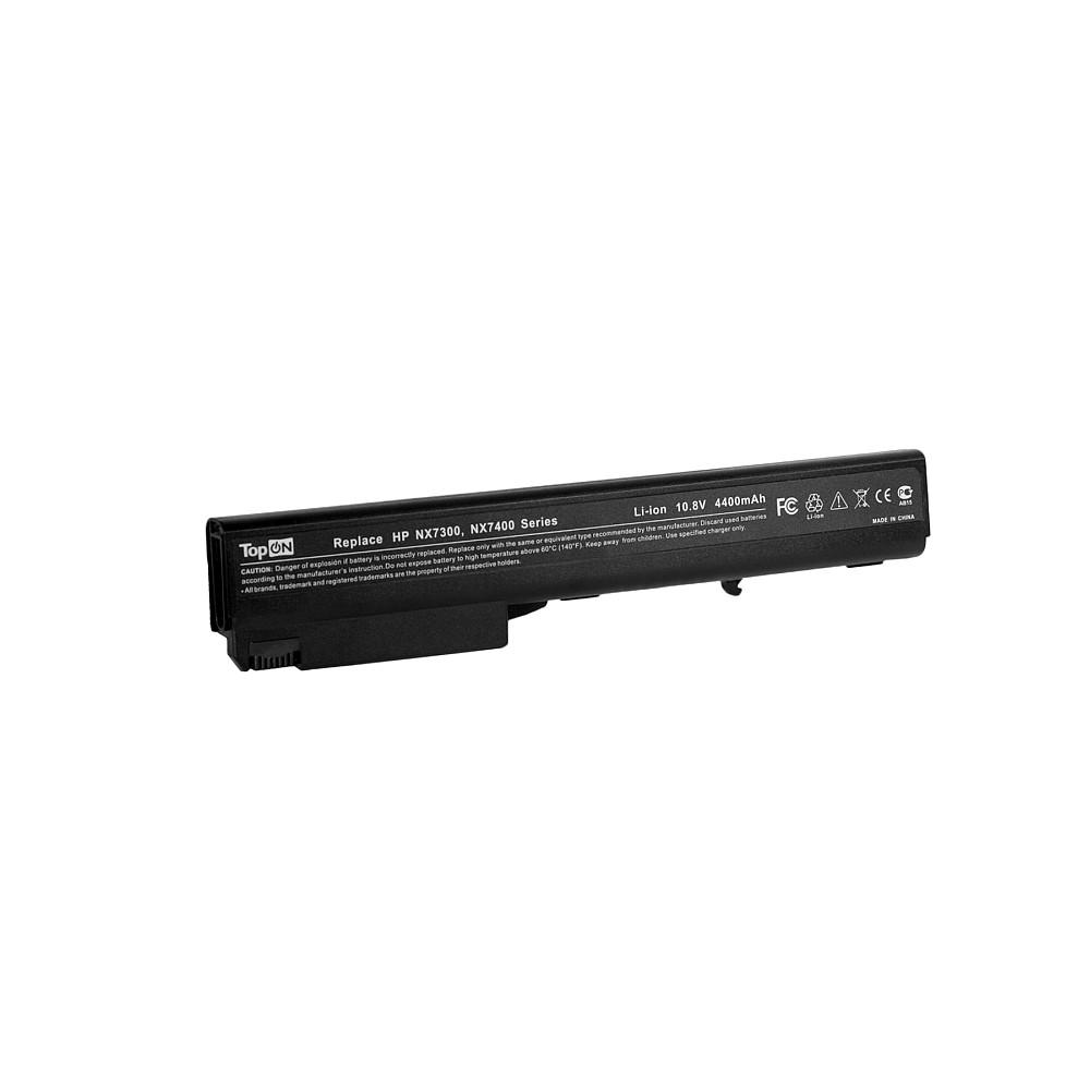 TopON TOP-NX7400 Аккумулятор для ноутбука HP Business Notebook 9400, NC8200, NW8200, NX7300 Series. 10.8V 4400mAh 48Wh. PN: PB992A, HSTNN-LB11.