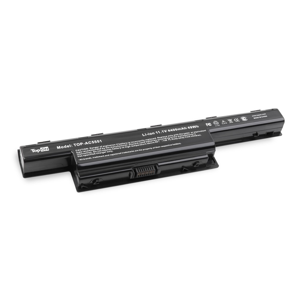 TopON TOP-AC5551 Аккумулятор для ноутбука Acer AS10D31 11.1V 4400mAh
