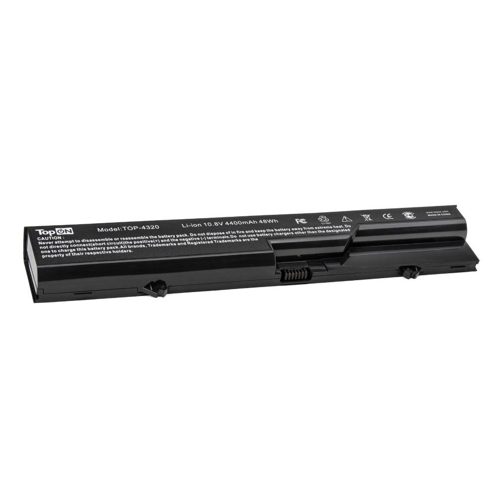 TopON TOP-4320 Аккумулятор для ноутбука HP Compaq 320, 420, 620, ProBook 4320, 4420, 4520, 4720s Series. 10.8V 4400mAh 48Wh. PN: HSTNN-I85C, PH06.