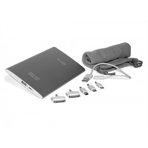 Внешний аккумулятор TopON TOP-AIR 6500mAh (24Wh), Lightning, micro-USB, mini-USB, Apple 30pin