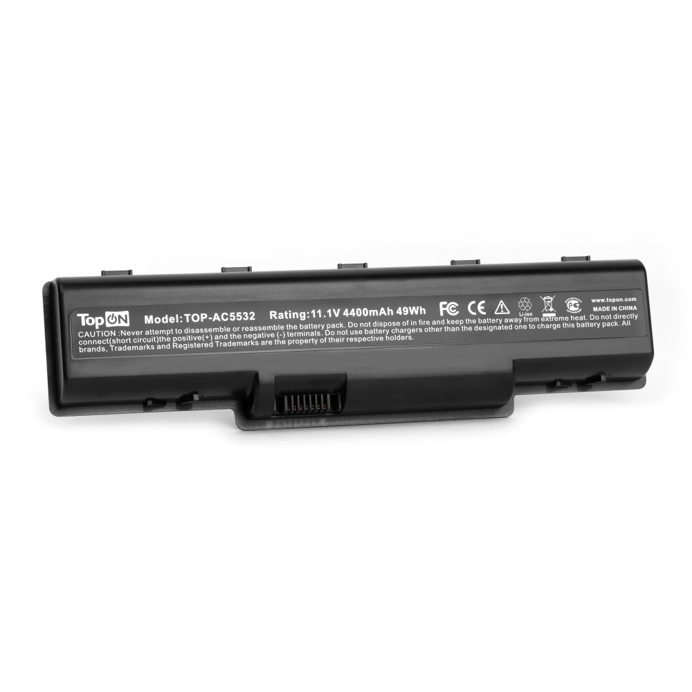 Аккумулятор для ноутбука Acer Aspire 4732, 5334, 5516, eMachines D525, D725, E525 Series. 11.1V 4400mAh 49Wh. PN: AS09A31, AS09A41.