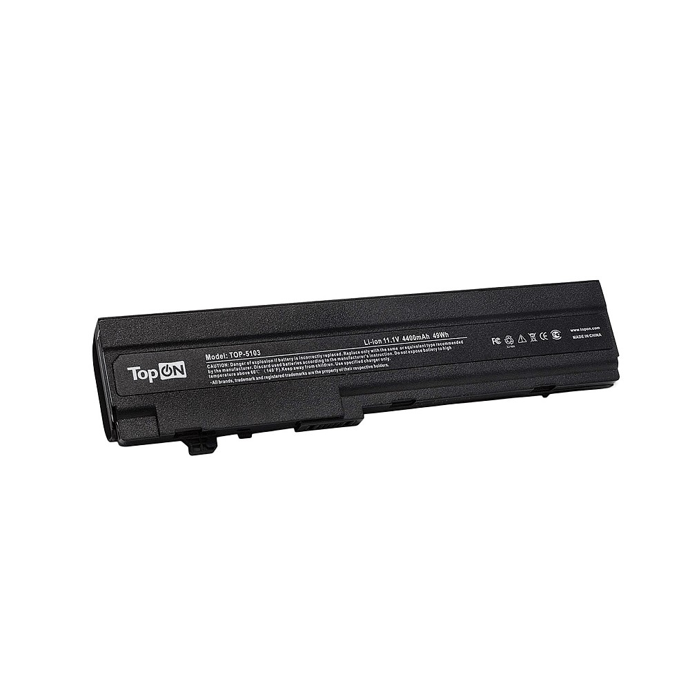 TopON TOP-5103 Аккумулятор для ноутбука HP Compaq Mini 5101, 5102, 5103 Series. 10.8V 4400mAh 48Wh. PN: AT901AA,1 HSTNN-DB0G.